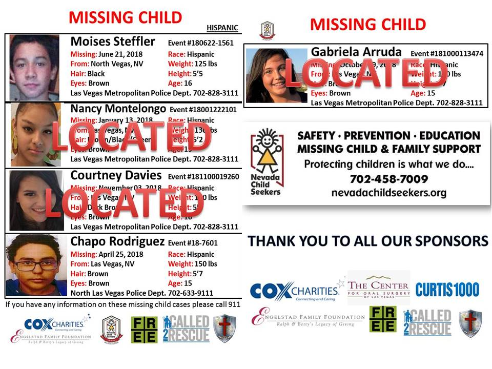 The Big Search 2019 – Nevada Child Seekers